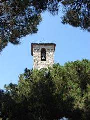 Tour du Suquet, chapelle Sainte-Anne et église Notre-Dame-de-l'Espérance -  Eglise Notre Dame Esperance, Cannes, Provence-Alpes-Côte d\'Azur, France