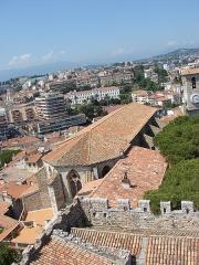 Tour du Suquet, chapelle Sainte-Anne et église Notre-Dame-de-l'Espérance -  Eglise Notre-Dame de l\'Espérance, Cannes, Provence-Alpes-Côte d\'Azur, France