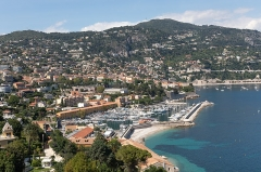 Port de la Darse (bâtiments et éléments d'infrastructure) - English:  The port of Villefranche-sur-Mer