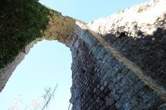 Aqueduc antique (restes de l') - Français:   Arches Sénéquier, partie de l'aqueduc de Mons à Fréjus en France.