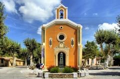 Chapelle Sainte-Magdeleine et castrum - Français:   Eglise Sainte Marie-Madeleine