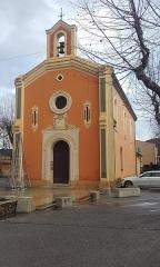 Chapelle Sainte-Magdeleine et castrum -  L'église de La Môle (Var)