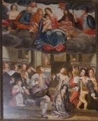 Chapelle de Notre-Dame-d'Aubune - Français:   Voeu de la peste, 1632 (Notre-Dame d'Aubune)