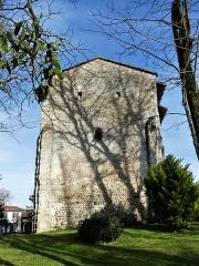 Eglise Notre-Dame de l'Assomption - Français:   La façade ouest de l\'église Notre-Dame-de-l\'Assomption, Bourg-du-Bost, Dordogne, France.