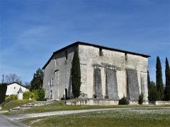 Eglise Saint-Jean-Baptiste de Comberanche - Français:   La façade sud de l\'église de Comberanche, Comberanche-et-Épeluche, Dordogne, France.