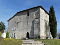 Eglise Saint-Jean-Baptiste de Comberanche - Français:   L\'église de Comberanche vue depuis le sud-ouest, Comberanche-et-Épeluche, Dordogne, France.