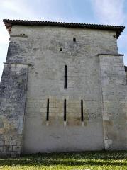 Eglise Saint-Jean-Baptiste de Comberanche - Français:   Le chevet de l\'église de Comberanche, Comberanche-et-Épeluche, Dordogne, France.