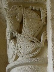 Eglise Saint-Seurin - Français:   Porche roman de la basilique Saint-Seurin de bordeaux (33).