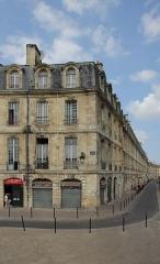 Immeuble - Français:   Immeuble (Inscrit), 13 place Bir-Hakeim, Bordeaux