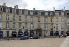 Immeuble - Français:   Immeuble (Inscrit), 4 place Bir-Hakeim, Bordeaux