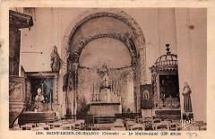 Eglise Saint-Léger - Français:   Saint-Léger-de-Balson - église