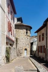 Fortifications - Français:   Tour de la rue des Augustins à Bayonne