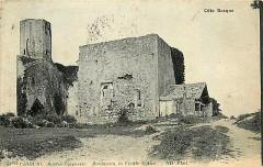 Ancienne église Notre-Dame de Bordagain, dite Tour de Bordagain - Français:   Ciboure - Bordagain vieille église
