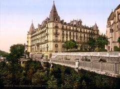 Ancien Hôtel de Gassion, actuellement cercle de jeux -  9527 P.Z. Grand Hôtel Gassion, Boulevard des Pyrénées, Pau, France