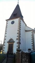 Eglise protestante de Mitschdorf - Français:   Église protestante de Mitschdorf (Gœrsdorf)
