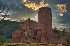 Ruines du château de Rathsamhausen - English:   c.1220