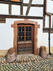 Immeuble - Français:   Strasbourg: maison au n° 1,  quai des Moulins