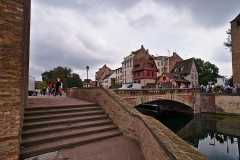 Ponts couverts - English:   The Ponts Couverts in Strasbourg.