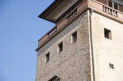 Tour et pavillon de plaisance, dits Breuscheckschlössel - Français:   Ancienne tour de guet du XIVe siècle faisant partie de l\'enceinte de Strasbourg.