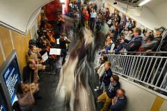 Métropolitain, station Louvre -  Paris' subway