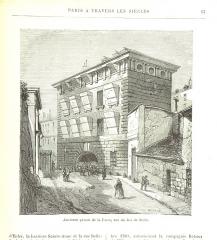 Prison de la Force (restes de la) - Image taken from:  Title: