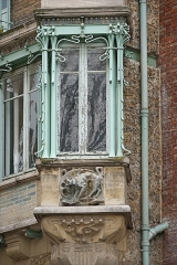 Immeuble dit Castel Béranger - This building is classé au titre des monuments historiques de la France. It is indexed in the base Mérimée, a database of architectural heritage maintained by the French Ministry of Culture,under the reference PA00086687 .