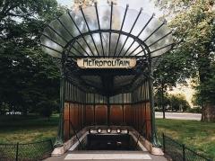 Métropolitain, station Dauphine -  Porte Dauphine