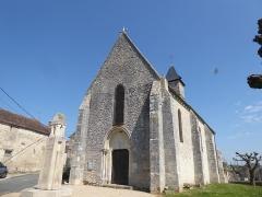 Eglise Saint-Mammes - Français:   Église Saint-Mammès - Moret-Loing-et-Orvanne ( Montarlot ) - Saine-et-Marne - FR