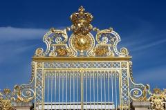 Domaine national de Versailles - Français:   Château de Versailles, Grille royale.