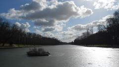 Domaine de Sceaux - Français:   Sceaux, France, hiver 2012, lors d'un épisode particulièrement froid