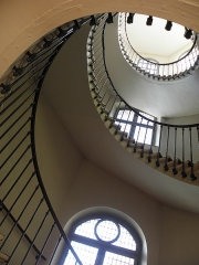 Ancienne abbaye du Val-de-Grâce, puis hôpital militaire - Français:   Val-de-Grâce, Paris (75005). Escalier de la tour octogonale précédent le chœur des religieuses.
