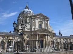 Ancienne abbaye du Val-de-Grâce, puis hôpital militaire - Français:   Paris, Église du Val-de-Grâce, J.H.Mansart, 1645-65