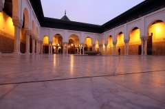 Mosquée de Paris et Institut musulman - Türkçe:   Paris Büyük Camisinin ici