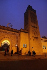 Mosquée de Paris et Institut musulman - Türkçe:   Paris Büyük Cami