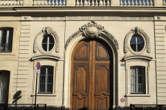 Collège Stanislas - Deutsch:   Petit Hôtel de Villars, Lycée Collège Privés Paul Claudel, in der Rue de Grenelle im 7. Arrondissement von Paris (Frankreich)