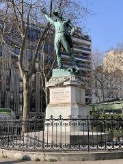 Monument du Maréchal Ney - Français:   Statue du Maréchal Ney, Paris.