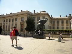 Ancien hôtel de Salm, actuel Palais de la Légion d'Honneur - Français:   Paris, France. MUSEE D\'ORSAY (8) (PA00088689)