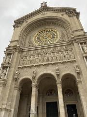 Eglise Saint-Augustin - Français:   Façade de l\'église Saint-Augustin de Paris.