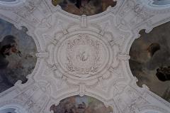 Petit Palais, actuellement musée des Beaux-Arts de la Ville de Paris -  Détail de l\'intérieur du petit palais.
