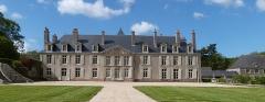 Château de Catuelan - Français:   Le château de Catuélan et sa cour d'honneur 1