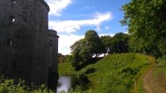 Château de la Hunaudaye - Français:   Plédéliac - Château de la Hunaudaye (douve)