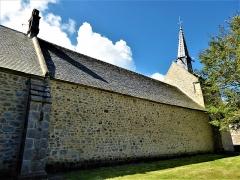 Chapelle Saint-Gonéry et cimetière - English:   Exterior of Chapelle Saint-Gonéry
