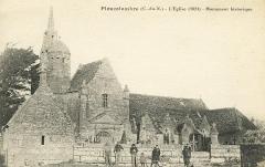Ensemble architectural formé par l'église Saint-Sylvestre, l'ossuaire, le calvaire et la clôture du cimetière -