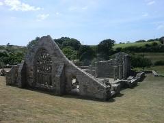 Ruines de la chapelle de Languidou - Français:   Chapelle de Languidou. Ruines de la chapelle