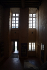 Hospice Saint-Mélaine - Français:   Abbaye Saint-Melaine de Rennes (35). Aile ouest des bâtiments conventuels. Escalier.