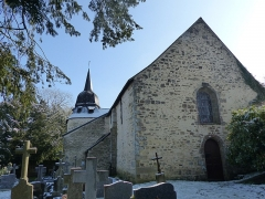Eglise Sainte-Croix - Français:   Chapelle Sainte-Croix sous la neige