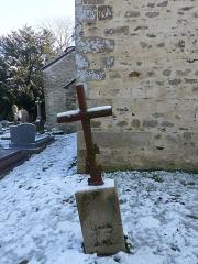 Eglise Sainte-Croix - Français:   Cimetière de la chapelle Sainte-Croix