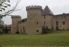 Château de la Roche - www.renaud-camus.net/librairie/     Site de Renaud Camus: bio-bibliographie, journal, Le Jour ni l'Heure, chronologie, livres & textes en ligne (librairie/bookshop), site du château de Plieux (histoire, description, conditions de visite), tableaux, etc.