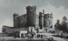 Château et son enceinte - Français:   Castle of Saint Vidal