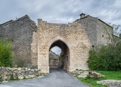 Anciens remparts - English:   Ramparts of La Couvertoirade, Aveyron, France